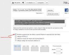 Posibilidades de youtube