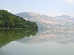 On the lake in Kastoria, Greece