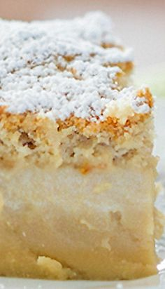 Butterscotch Magic Cake - one very thin simple batter amazingly turns into a 3 layer cake as it bakes; now in butterscotch flavor. Magic Cake Recipes, Sweet Recipes, Dessert Recipes, Food Cakes, Cupcake Cakes, Cupcakes, Just Desserts, Delicious Desserts, Bisquick Recipes