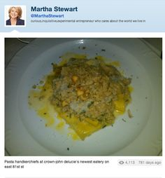 Don't take pictures of your food if it looks like poop (or vomit). Gross Food, Martha Stewart, To Tell, Food Photography, Pasta, Recipes, Pop Culture, Random, Funny