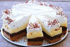 Fenomenální nepečený čokoládový dort, který si oblíbíte. Připraven rychle, je nenáročný na přípravu a zvládnou ho i začátečnice v kuchyni. No Bake Cookies, No Bake Cake, Tea Cakes, Food Cakes, Sweet Recipes, Cake Recipes, Cheesecake Ice Cream, Kolaci I Torte, Czech Recipes