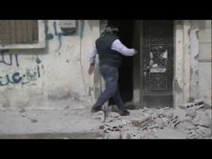 Government forces have been bombarding Homs as they try to subdue the restive western city. This video, uploaded on February 6, shows attempts to rescue some of those affected by the barrage. At 0.40, a man is seen running out of a badly damaged building carrying a child; moments later, women and children flee.    The video was uploaded to a YouTube account that contains the name of a suburb of Homs, Baba Amro, which has been widely reported to be the target of heavy weapons in recent days… February 6th, The Voice, Target, In This Moment, Running, Keep Running, Why I Run, Target Audience, Goals