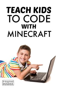 Learning to code makes Minecraft more fun AND gives kids a valuable life skill. Here's an easy at-home way to teach kids to code WITH the game they love! Educational Activities, Educational Technology, Learning Activities, Kids Learning, Activities For Kids, Stem Activities, Teaching Technology, Teaching Kids To Code, Teaching Style