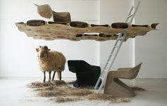 studio aisslinger - Hemp Chair & Hemp House