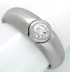 Foto 1, Neu! Brillant-Designer-Ring River-E WG Luxus! Portofrei, S8667