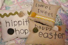 Easter/spring pillows.