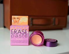 """Compared to NARS- Erase Paste is thicker/ denser.   Compared to NARS """"Custard"""" (the one I reviewed)- Erase Paste has a pinker undertone which is more brightening. *A part of the reason why my eyes started wandering for a new concealer is because Custard was a bit too yellow.  I like that the Erase Paste in Medium has a pinker tone.   Erase Paste has a slightly higher coverage  Known as a great """"beginners"""" concealer for it's simplicity"""