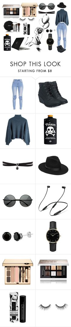 """""""daydreamer & nightthinker"""" by xcreepygirlx ❤ liked on Polyvore featuring Timberland, Fallon, Lack of Color, ZeroUV, Beats by Dr. Dre, ROSEFIELD, Givenchy, Chanel, Beekman 1802 and tarte"""