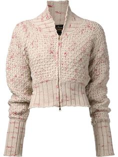 Vivienne Westwood Anglomania  'Guide' cardigan in Anastasia Boutique; farfetch.com.