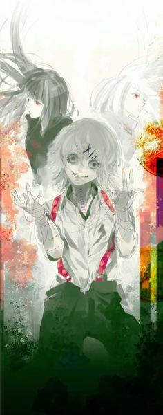 Kurona, Nashiro et Juzo - Tokyo Ghoul