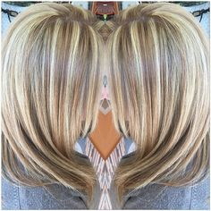 Image result for chunky blonde highlights