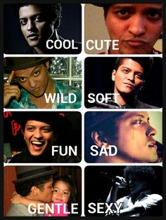 Love all the hot photos of Bruno Mars Perfect Music, Perfect Man, Bruno Mars Quotes, Pop Rock, Travel Humor, Good Smile, Future Husband, Sexy Men, Marie
