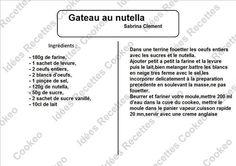 Gâteau au Nutella Jambalaya, Cooking, Desserts, 20 Minutes, Beignets, Ravioli, Charcuterie, Recherche Google, Chicken Recipes