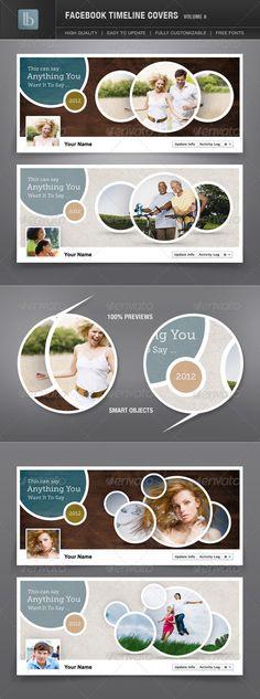 Facebook Timeline Cover | Volume 8 - GraphicRiver Item for Sale