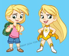Little Heroine by tombancroft on deviantART