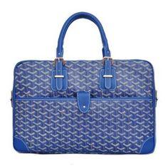 Sac à Main Goyard GY2387 Bleu 1.Marque  : goyard 2.Style  : Sac à Main Goyard 3.couleurs :Bleu 4.Matériel :PVC avec cuir 5.Taille: w42 x H27x d10cm