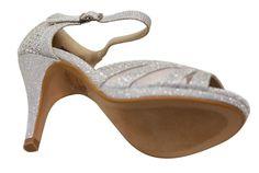e62acc820459 Bella Marie Shania-26 Women's Peep Toe Rhinestone Glitter Strappy Mesh  Dance Sandals