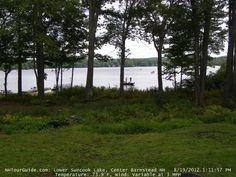 Center Barnstead NH Webcam at Lower Suncook Lake