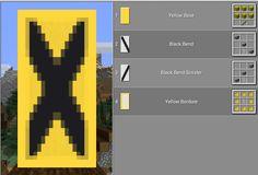 Minecraft Stores, Minecraft Mobs, Minecraft Projects, Minecraft Crafts, Minecraft Designs, Minecraft Ideas, Minecraft Buildings, Minecraft Banner Patterns, Cool Minecraft Banners