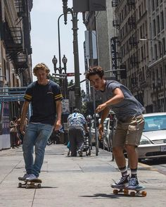 One of those days where we would rather be cruising the streets of DTLA than skating a park with @tomerikryen & @justinkalaniburbage