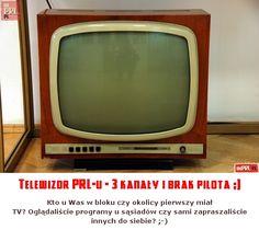 Telewizor PRL-u - 3 kanały i brak pilota ;)