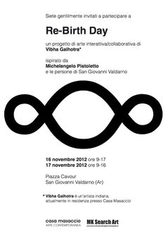 Re-birth day un progetto di arte interattiva/collaborativa di Vibha Galhotra