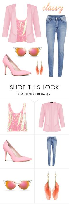 """Blushing"" by goycotwo ❤ liked on Polyvore featuring Chris Benz, Quiz, ALDO, Cheap Monday and Fendi"