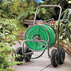 Charmant Garden Hose Reel Cart