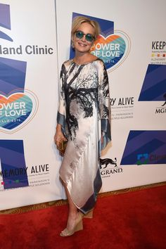 Sharon Stone Photos - Keep Memory Alive's 19th Annual 'Power of Love' Gala Honors Andrea & Veronica Bocelli - Red Carpet - Zimbio
