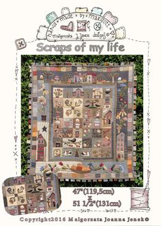 Scraps of my life PDF pattern Quilt pattern by MJJenekdesigns