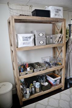 New Craft Room Bookshelf -