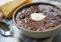 BLACK BEAN SOUP Chef Paul's Recipes - Chef Paul Prudhomme