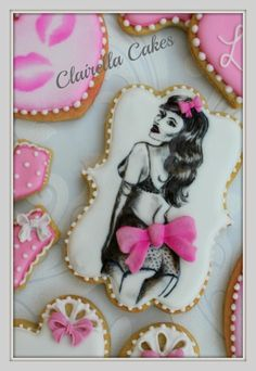 """Sweet Love"" Valentine Cookies - Cake by Clairella Cakes"