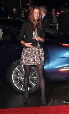 I have a similar dress, great idea for winter with the cardigan and pantyhose