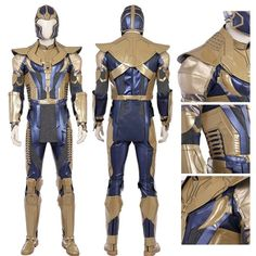 The full set of Avengers Infinity War Thanos Cosplay Costume Full Set you have never seen before, the top level of workmanship and the most refined restoration. Coming from simcosplay. Thanos Costume, Cosplay Costumes, Halloween Costumes, Cosplay Store, Final Fantasy Cosplay, Costume Ideas, Cosplay Ideas, Halloween Disfraces, Avengers Infinity War