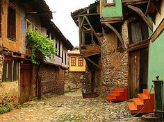 Turkey's UNESCO World Heritage Sites - Bursa and Cumalıkızık: The Birth of the Ottoman Empire (2014)  This property is actually a serial nomination of eight component sites in the City of Bursa and the nearby village of Cumalıkızık in the southern Marmara region. The site promotes the creation of an urban and rural system establishing the Ottoman Empire in the early 14th century.
