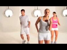 30 Minute Aerobic Dance Workout with Deanne Berry (Full).....It's a K Swiss advertisement, but I like it anyway. Dance aerobics and kick boxing