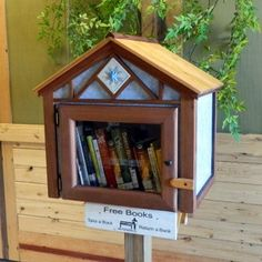 http://littlefreelibrary.org/shop/library/scandinavian_cottage/ Image used with permission from Little Free Library