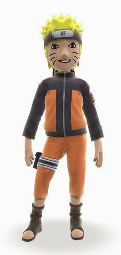 Naruto Custom Avatars For Xbox 360 & Xbox Live Users   Keymochi