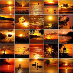 Incredible sunsets by LHDumes, via Flickr