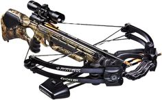 "NEW Barnett Ghost 350 C 4X32 Carbon Riser Crossbow Pkg 350 FPS Retails @ $599.99 - Inc Quiver, 3 20"" bolts, 4x32 Scope & Rope Cocker!  #crossbow #retails #riser #carbon #ghost #barnett"