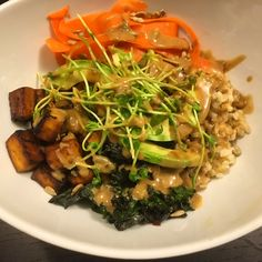 Healthy Buddha Bowl Andrea D'Ambrosio, Registed Dietitian. Dietetic Directions. Spokesperson for Dietitians of Canada.