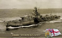 HMS Termagant (R89) was a T-class destroyer of the British Royal Navy that saw service during the Second World War. She was built by William Denny and Brothers, of Dumbarton and launched on March 22, 1943. She was scrapped in 1965. (google.image) 12.17