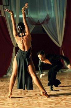 When danced passionately Salsa is more than just dancing-- its a minute connection with yourself and another person in a completely different level.