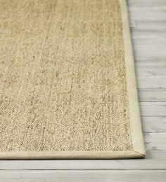 The OSTED rug from IKEA is hard-wearing and durable because it's made of sisal, a natural fiber taken from the agave plant. Polyester edging makes the rug very durable and strong. Ideal for high traffic areas like hallways since the rug is easy to vacuum and maintain, plus it looks the same on both sides, so you can turn it over.
