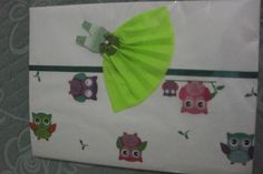 Caderno Vestidinho Verde
