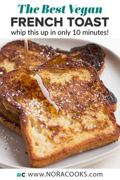 Vegan Dinner Recipes, Healthy Breakfast Recipes, Whole Food Recipes, Vegetarian Recipes, Cooking Recipes, Easy Vegan Breakfast, Healthy Recipes, Vegan Baking Recipes, Healthy Desserts