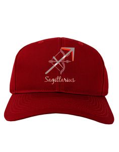TooLoud Sagittarius Symbol Adult Dark Baseball Cap Hat