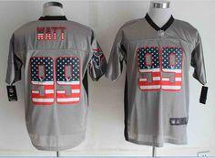2014 NEW Nike Houston Texans #99 J.J. Watt USA Flag Fashion Grey jerseys