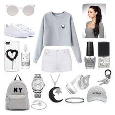 """Untitled #3"" by naomieugenia ❤ liked on Polyvore featuring Chicnova Fashion, adidas, Kosha, Zero Gravity, OPI, Lane Bryant, Ally Fashion, Joshua's, Calvin Klein and Jewel Exclusive"
